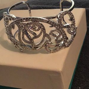 COLLECTABLE SILVER DISNEY VINTAGE CUFF BRACELET